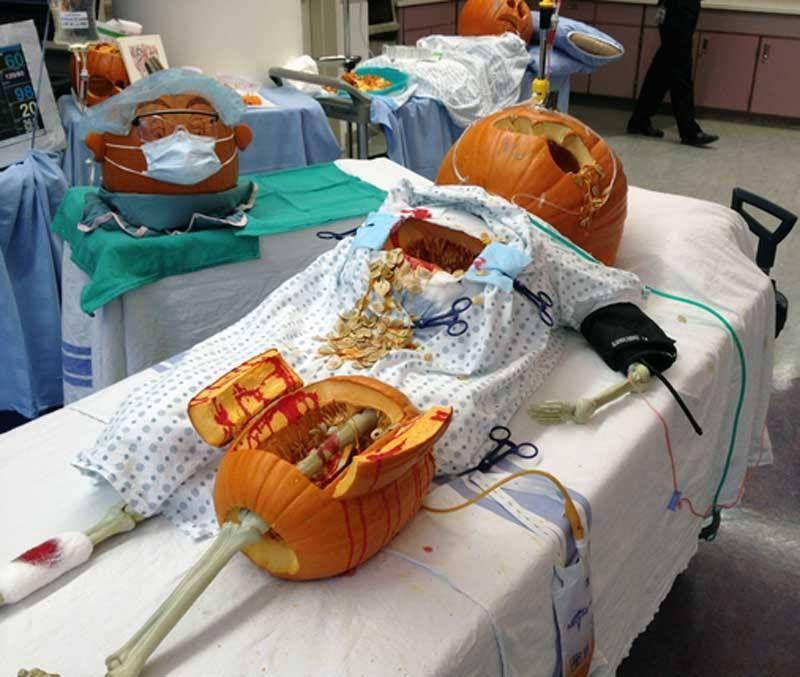 Halloween craft idea trauma surgery holiday