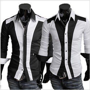 Men's Casual Dress Shirts - Colorful Dress Images of Archive