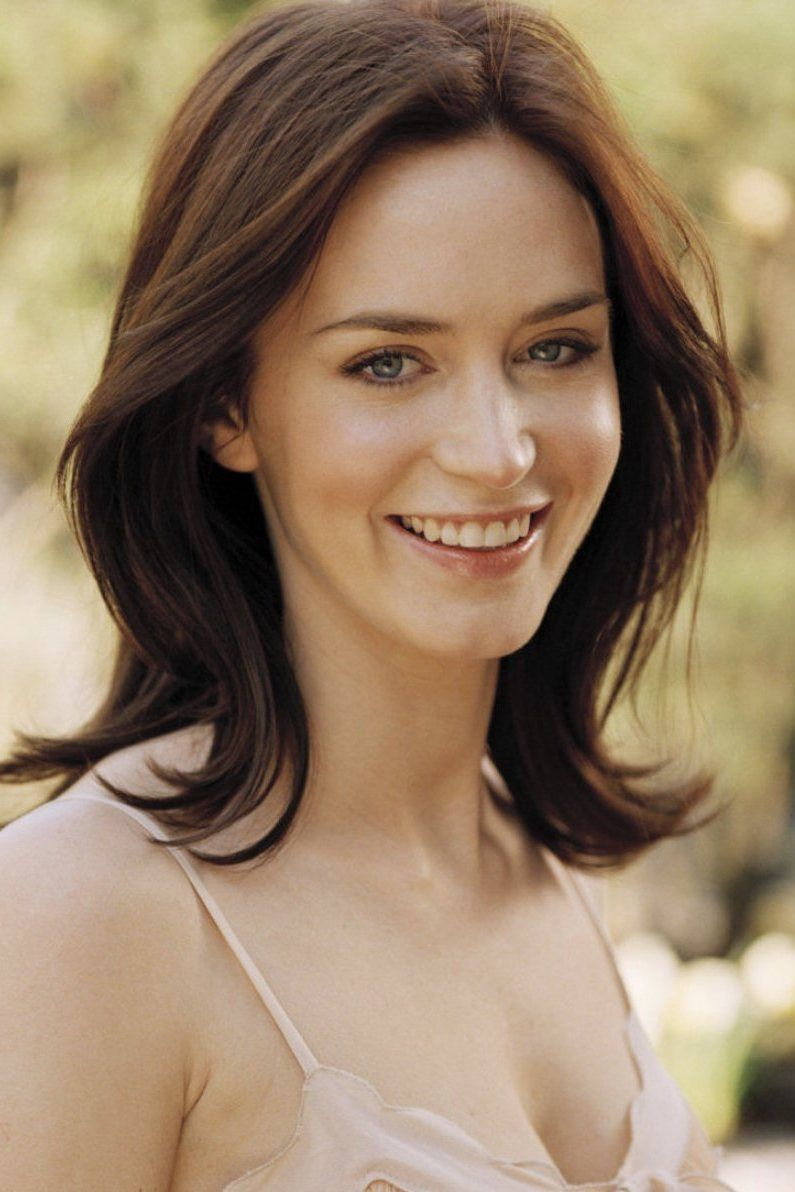 I love Emily Blunt - also a skin inspiration. # ...