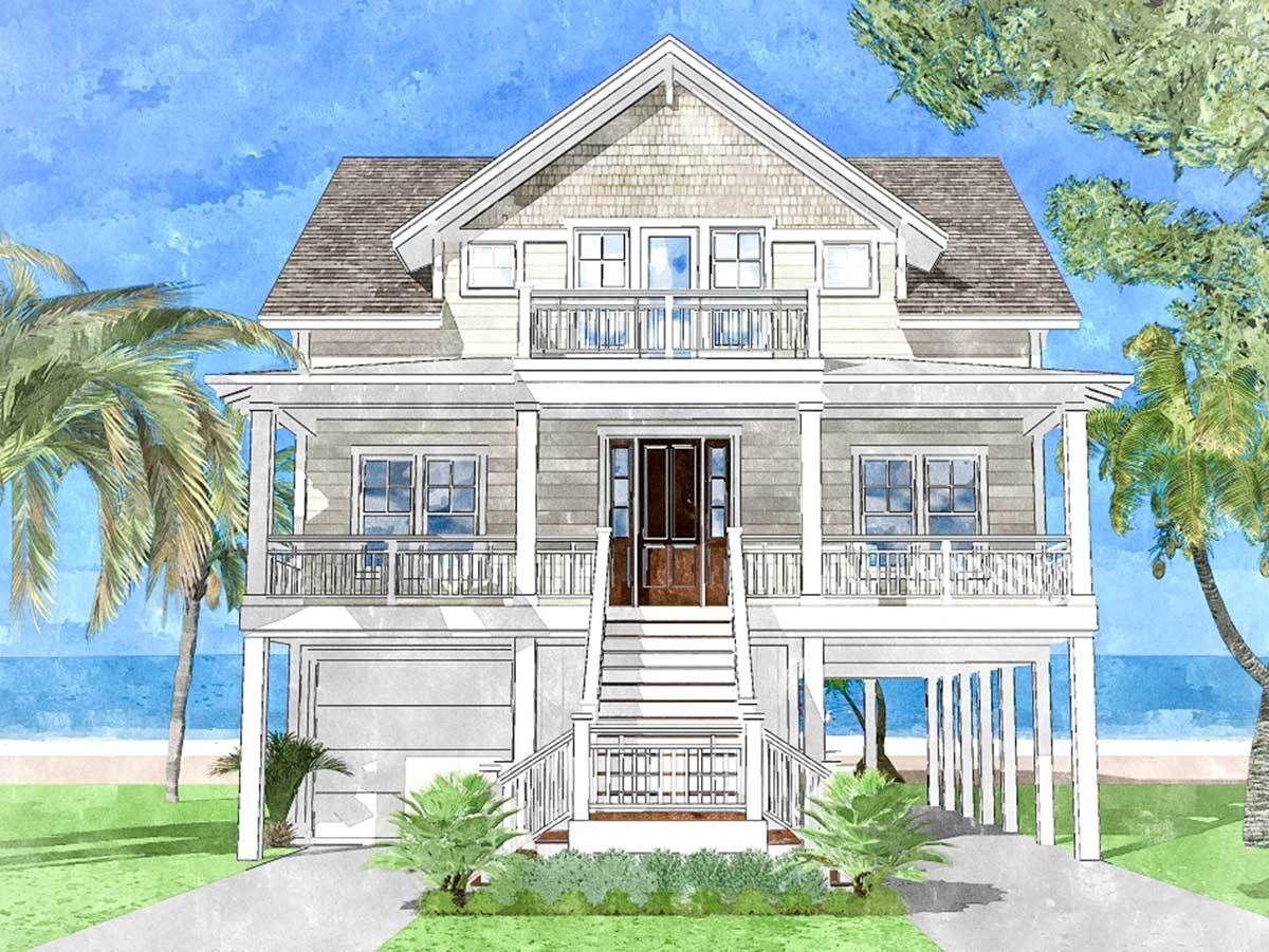 Plan 15228nc Upside Down Beach House Beach House Floor Plans Coastal House Plans Beach House Flooring