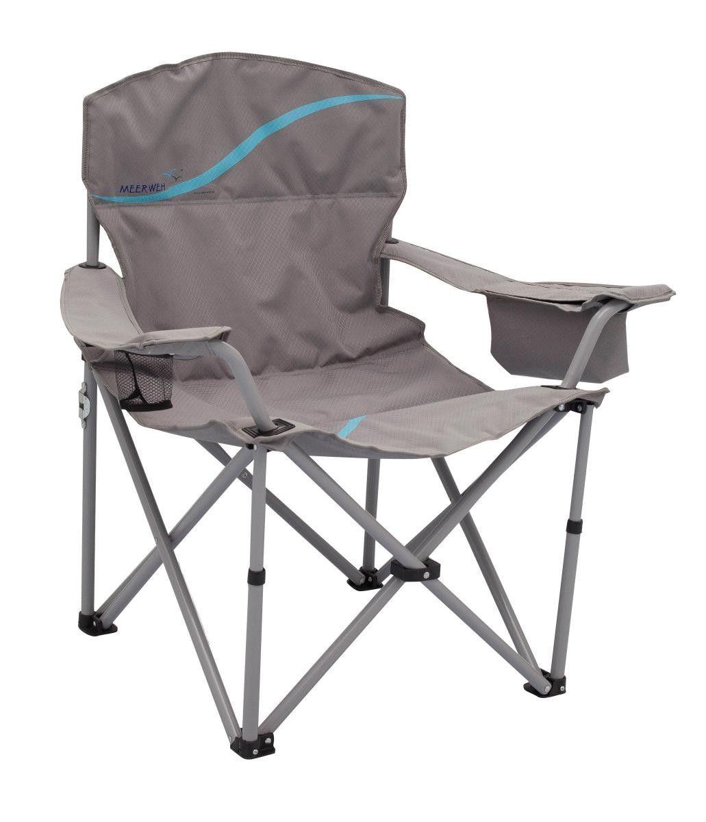 Meerweh Campingstuhl Faltstuhl Relaxstuhl grau blau Jetzt bestellen ...