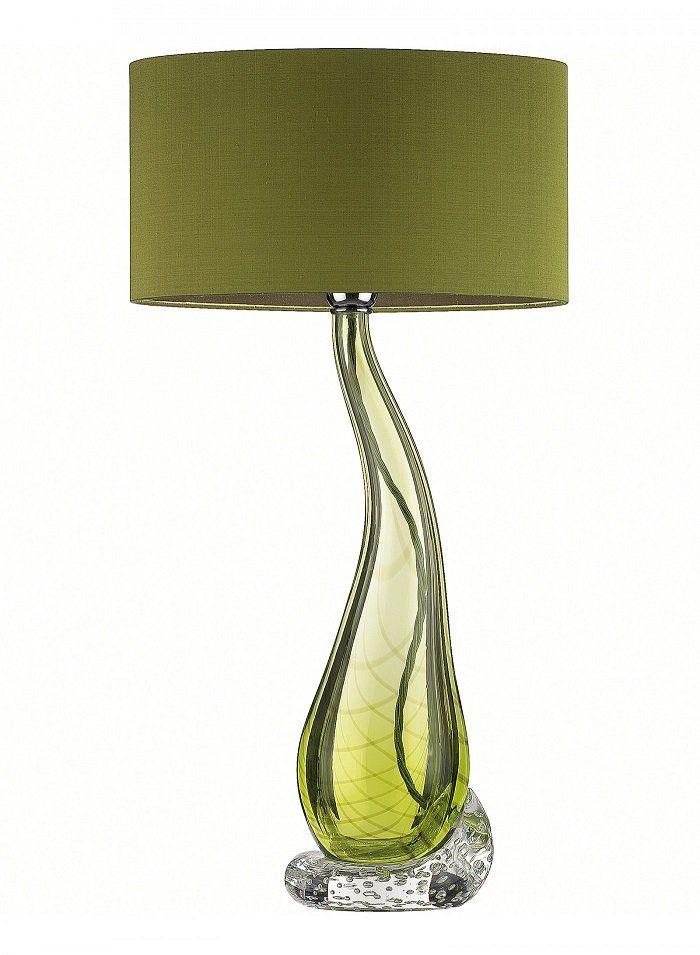 Twitter Green Lamp Art Glass Lamp Modern Glass Table Lamps