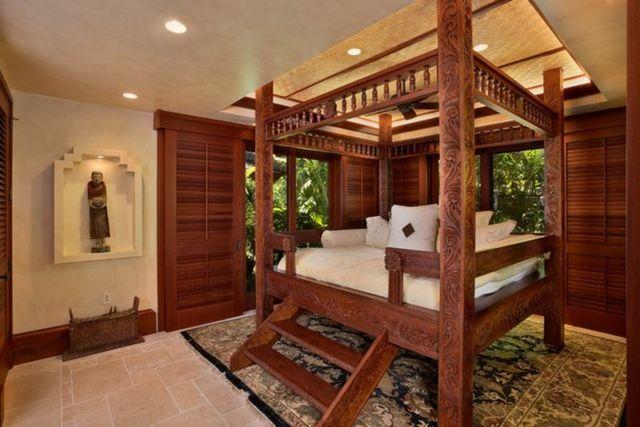 15 chambres de caractère à l\'aide d\'un lit rustique | Lit rustique ...