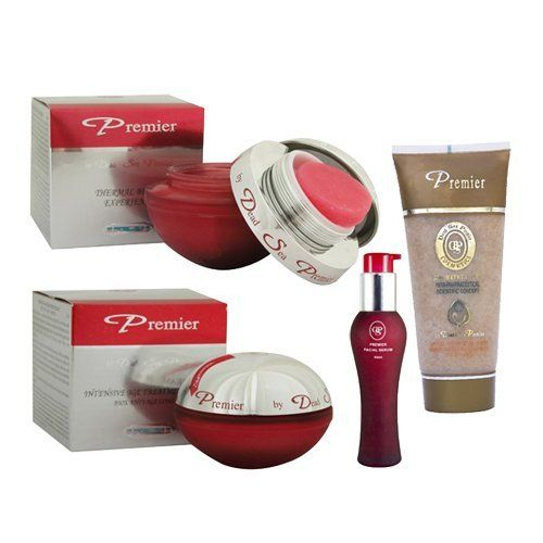 Premier Dead Sea Expression Lines Erasing Kit - Mask, Cream, Serum, and Gels by Dead Sea Premier. $149.99. Cream. SErum. scrub. mask. Our Expression Line is comprised of four products:     BIOX Thermal Beauty Experience Mask     BIOX Intensive Age Treatment Serum     BIOX Intensive Age Treatment Cream     Facial gel