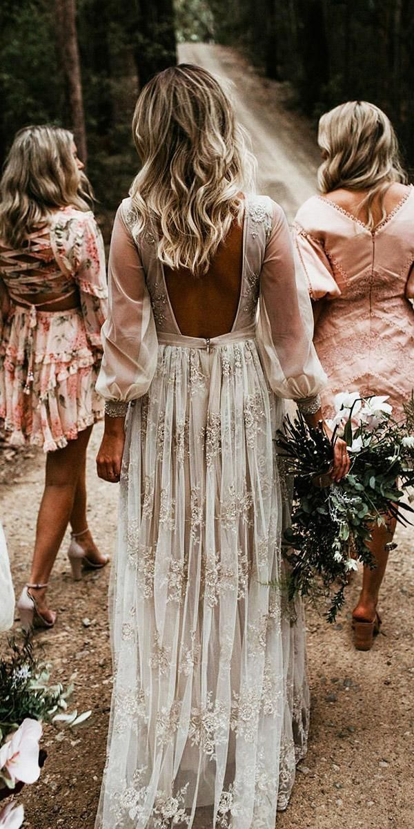 27 Bohemian Wedding Dress Ideas You Are Looking For #bohoweddingdress