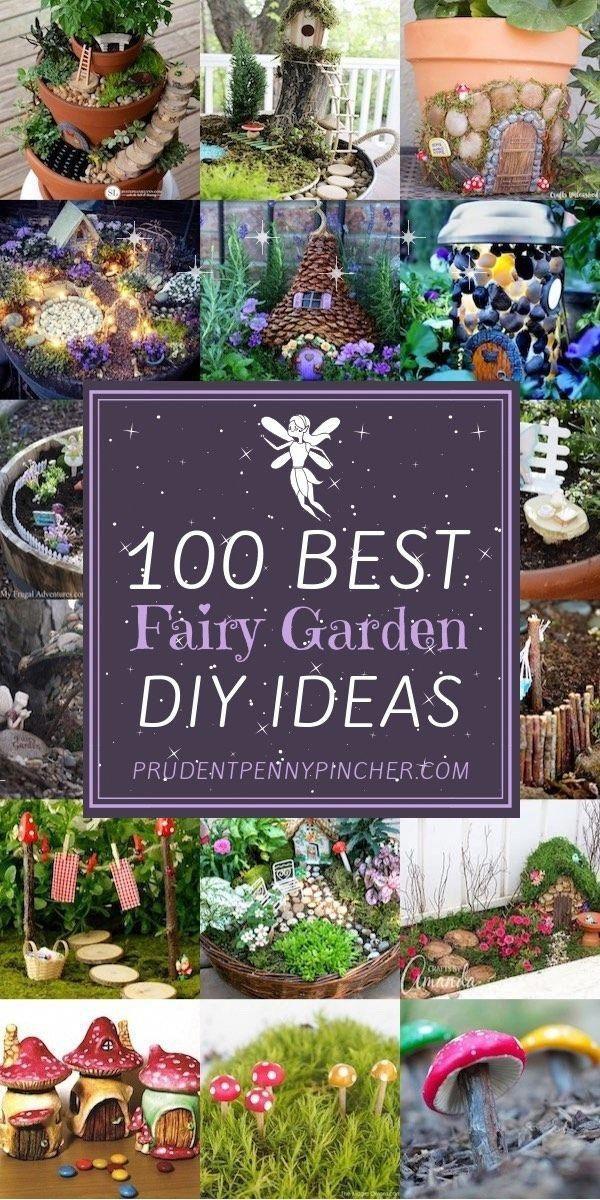 Photo of 100 Best DIY Fairy Garden Ideas