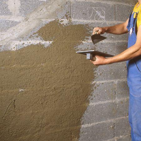 comment enduire un mur extérieur en 2 couches   mur exterieur, la ... - Comment Faire Un Enduit Exterieur Sur Parpaing