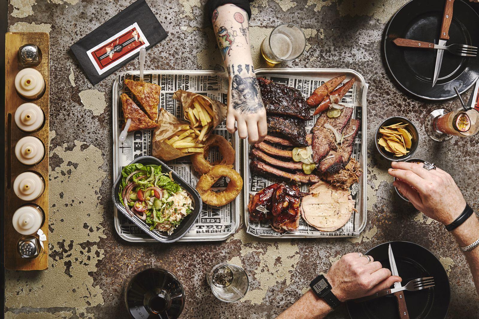 London S Best American Bbq Restaurants Bbq Restaurant Bbq Recipes Bbq Platter