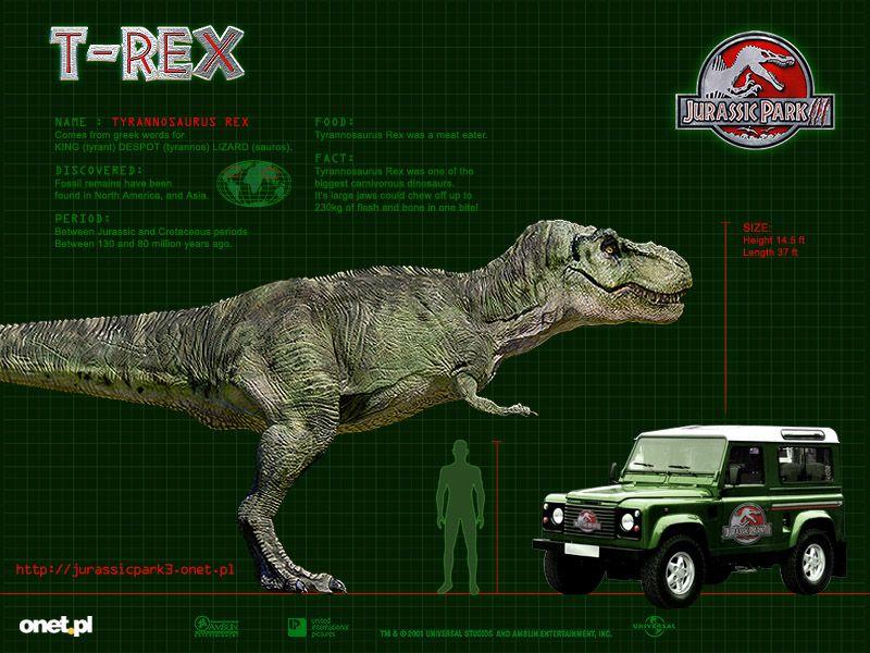 Jurassic Park 3 T-Rex   Craft for kids   Pinterest   Pecas