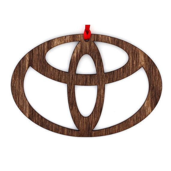 Wooden Toyota Ornament by newenglandworkshop on Etsy