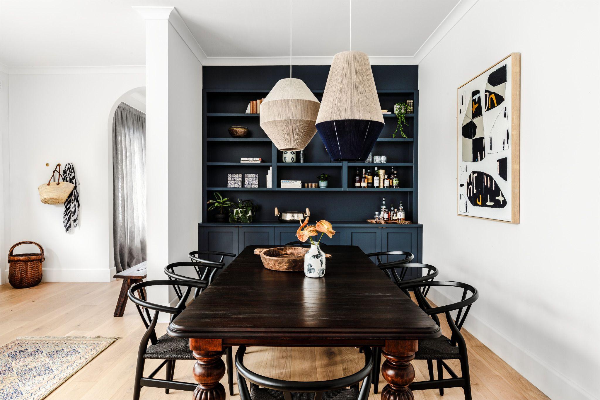 Formale esszimmer wanddekoration malvern home by studio ezra  local bespoke interior design