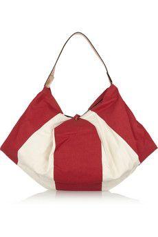 Diane von Furstenberg Laragh canvas hobo bag