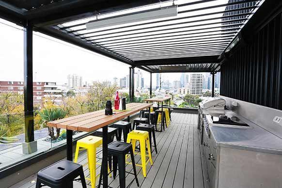 The Block Rooftop Terrace Industrial Interior Bedroom Industrial House Industrial Decor Bedroom