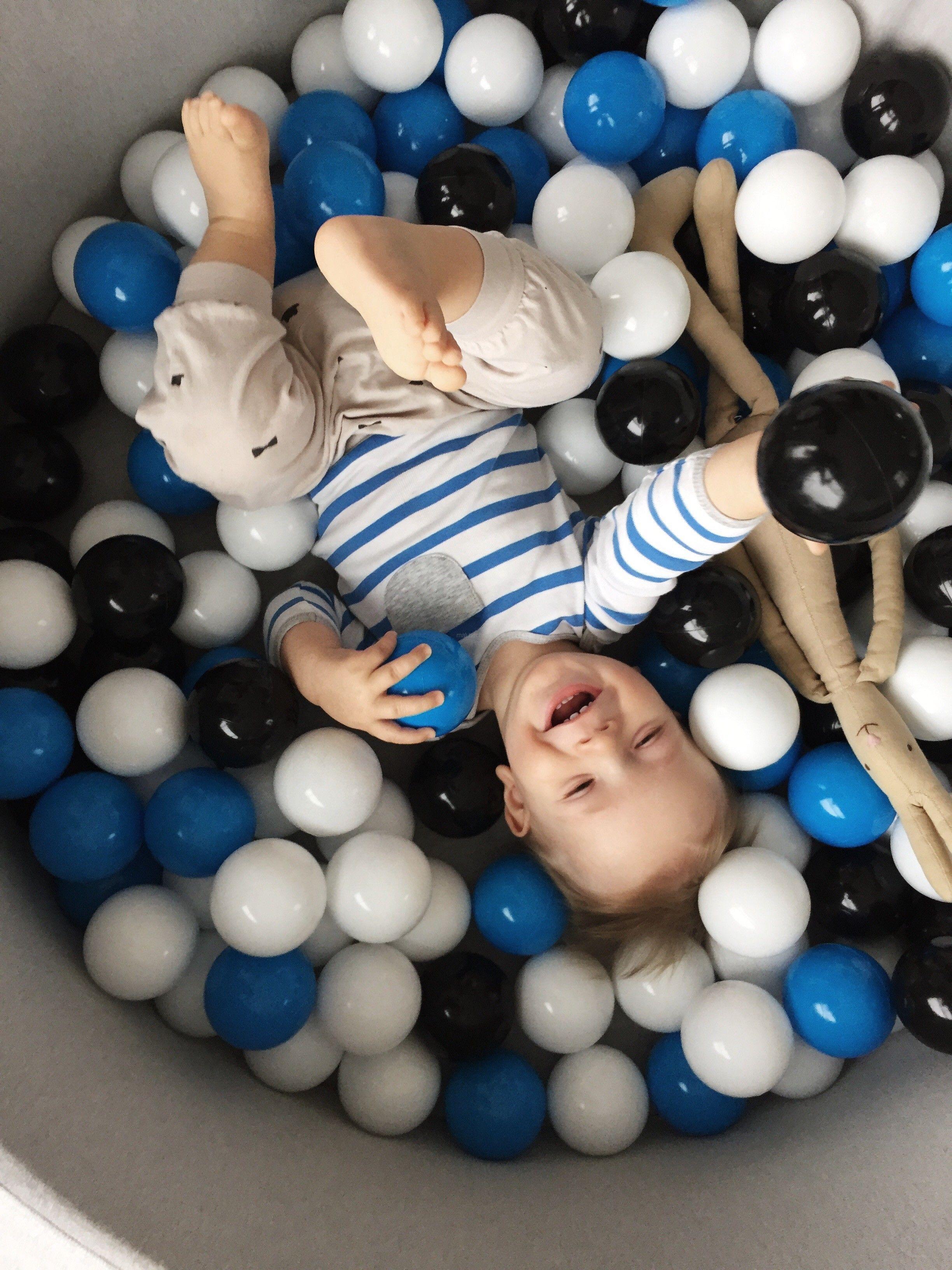 Minibe suchy basen z pi eczkami 150szt dla dzieci pinterest - Minibe piscina bolas ...