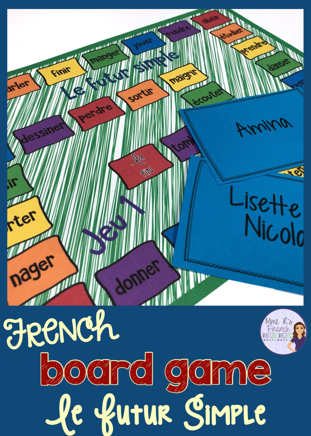 Fun Games For French Class French Vocabulary High School Lesson Plans High School French [ 1400 x 1000 Pixel ]