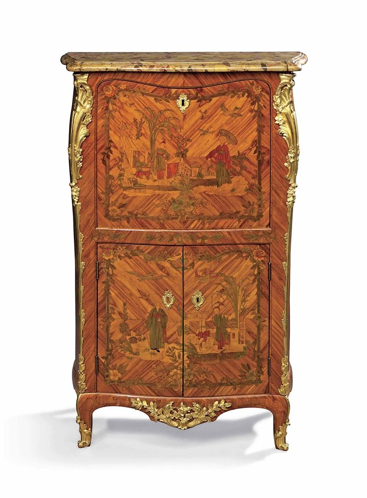a louis xv ormolu mounted tulipwood stained sycamore amaranth fruitwood m bel pinterest. Black Bedroom Furniture Sets. Home Design Ideas