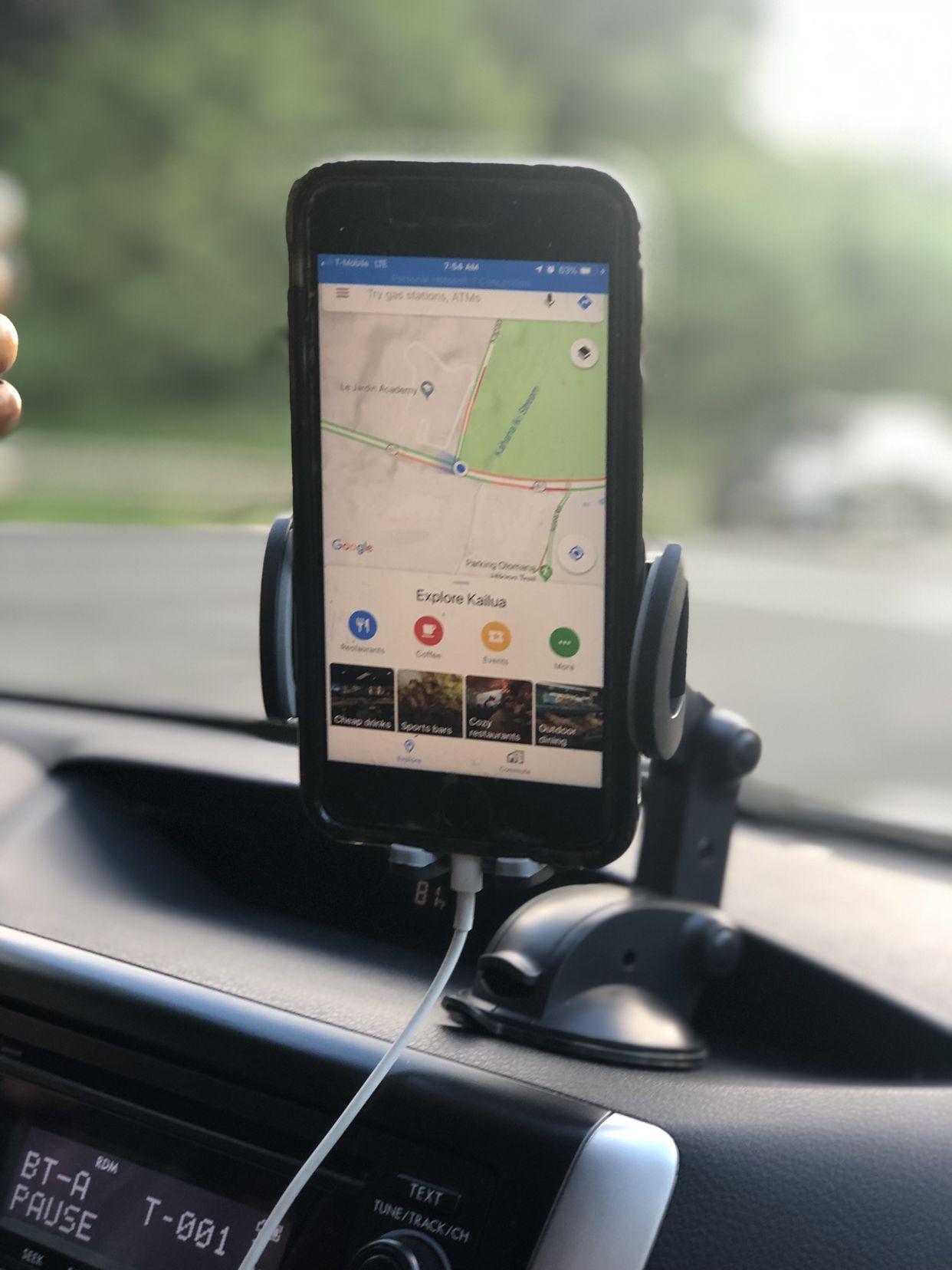 Dashboard cell phone holder phone holder cell phone