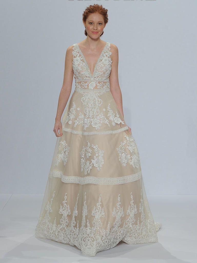 Randy fenoli wedding dresses  Randy Fenoli Spring  Shimmering Wedding Dresses Make a