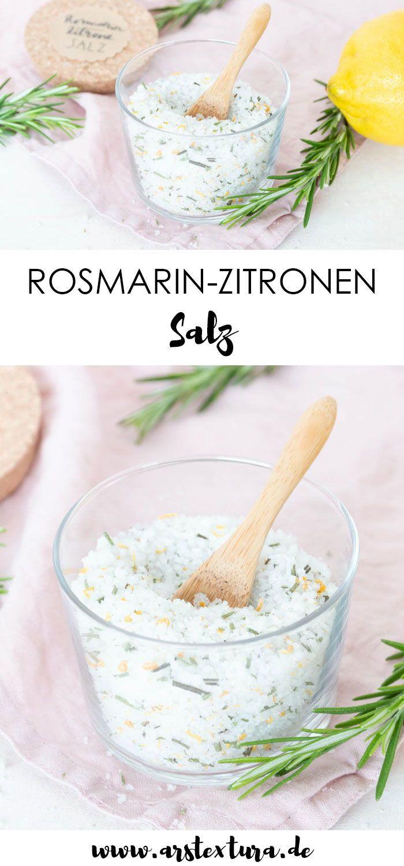 Rosmarin-Zitronen Salz #weihnachtsgeschenkeselbermachen