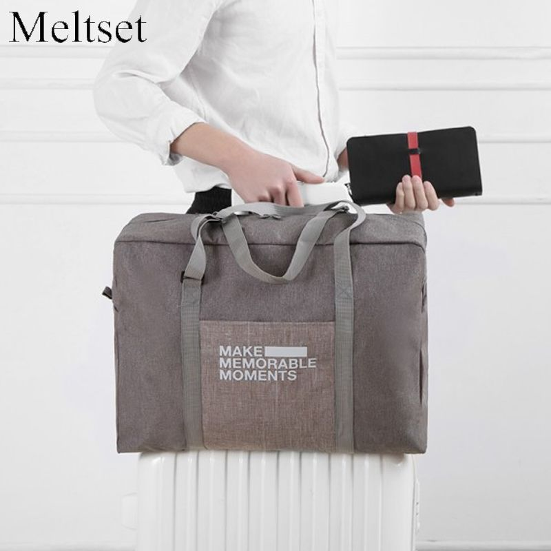 c8922a53dfa5 1PC Casual Travel Bag Clothes Luggage Storage Organizer Folding Collation  Pouch Suitcase Handbag  Affiliate