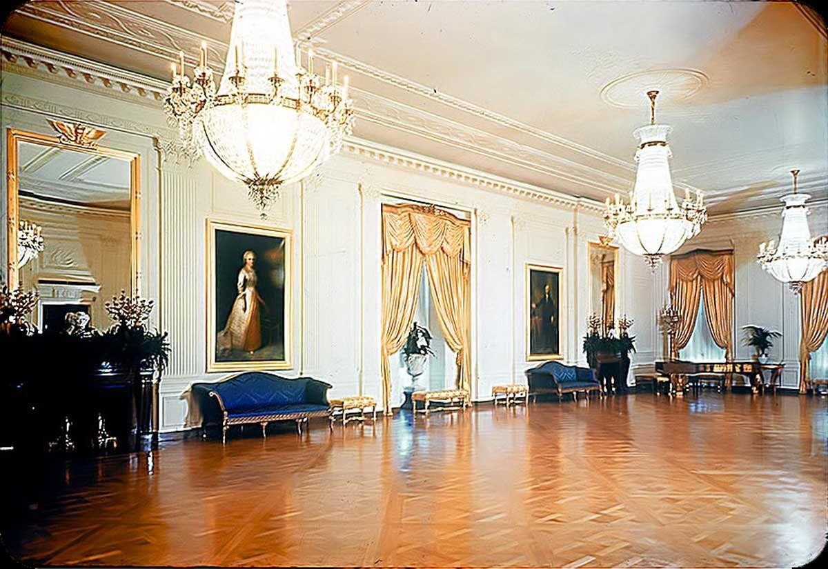 white house east ballroom december 1956 1600