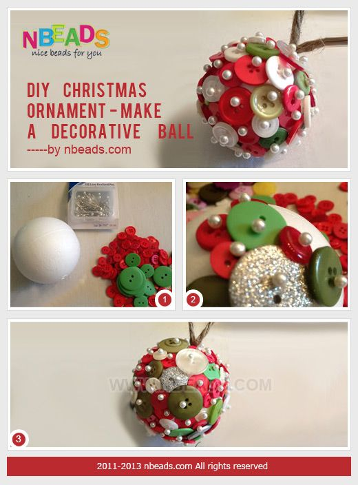 Decorative Christmas Ball Ornaments Diy Christmas Ball Ornaments  Articlediychristmas