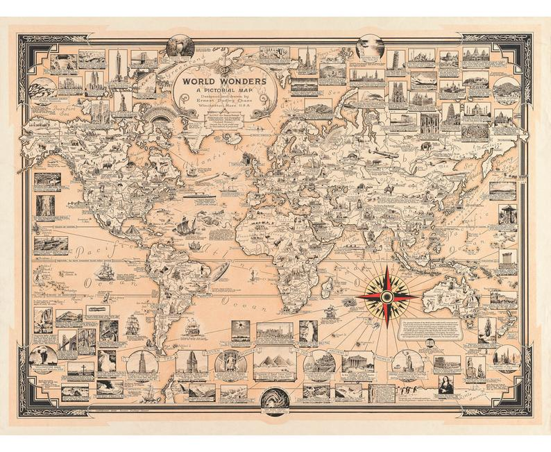 Digital Printable Antique Earth Globe Map Graphic Western Hemisphere Image Download Printable Digital Im Earth Globe Map Illustrated Map Illustration Print