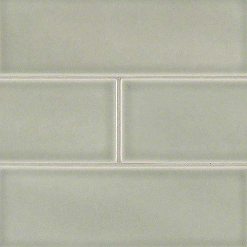 Subway Tile Morning Fog Subway Tile 4x12 Glass Subway