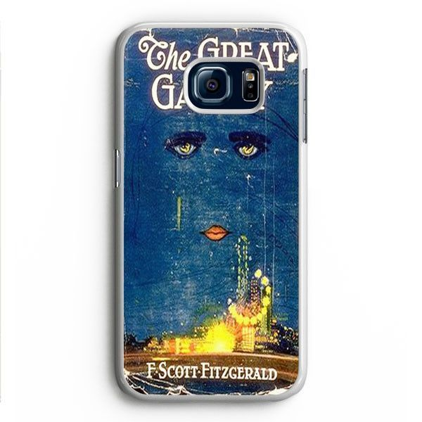 Great Gatsby Book Samsung Galaxy S6 Edge Case Aneend