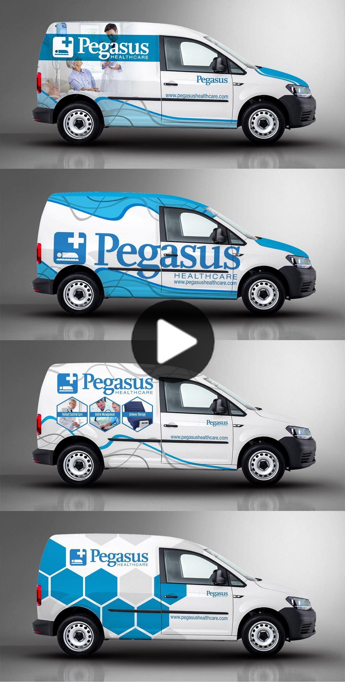 I Like Those Hexagons Tho Vehicle Signage Truck Design Car Wrap [ 2859 x 1447 Pixel ]