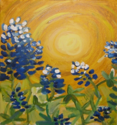 Texas Bluebonnets...there's a K-2nd gr. story to go with this but i can't remember the title!?!?
