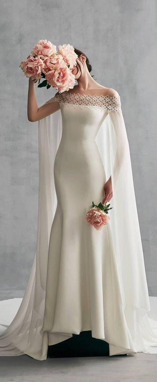 #Abendkleid #Danica #Ines #mit #Santo #Schulterfreies