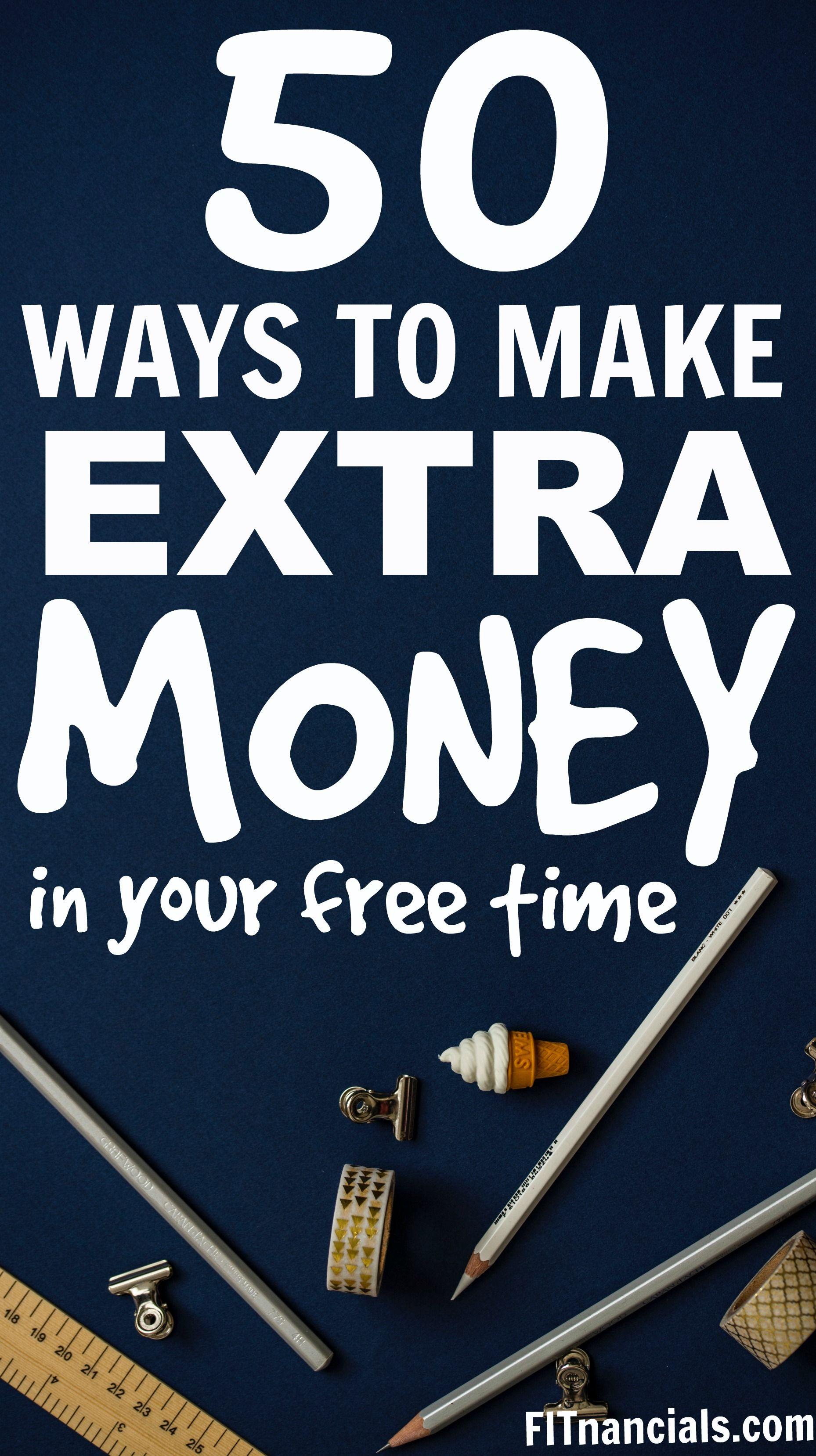 34 Ways To Make Extra Money Today Extra Money Money Today Ways To Earn Money