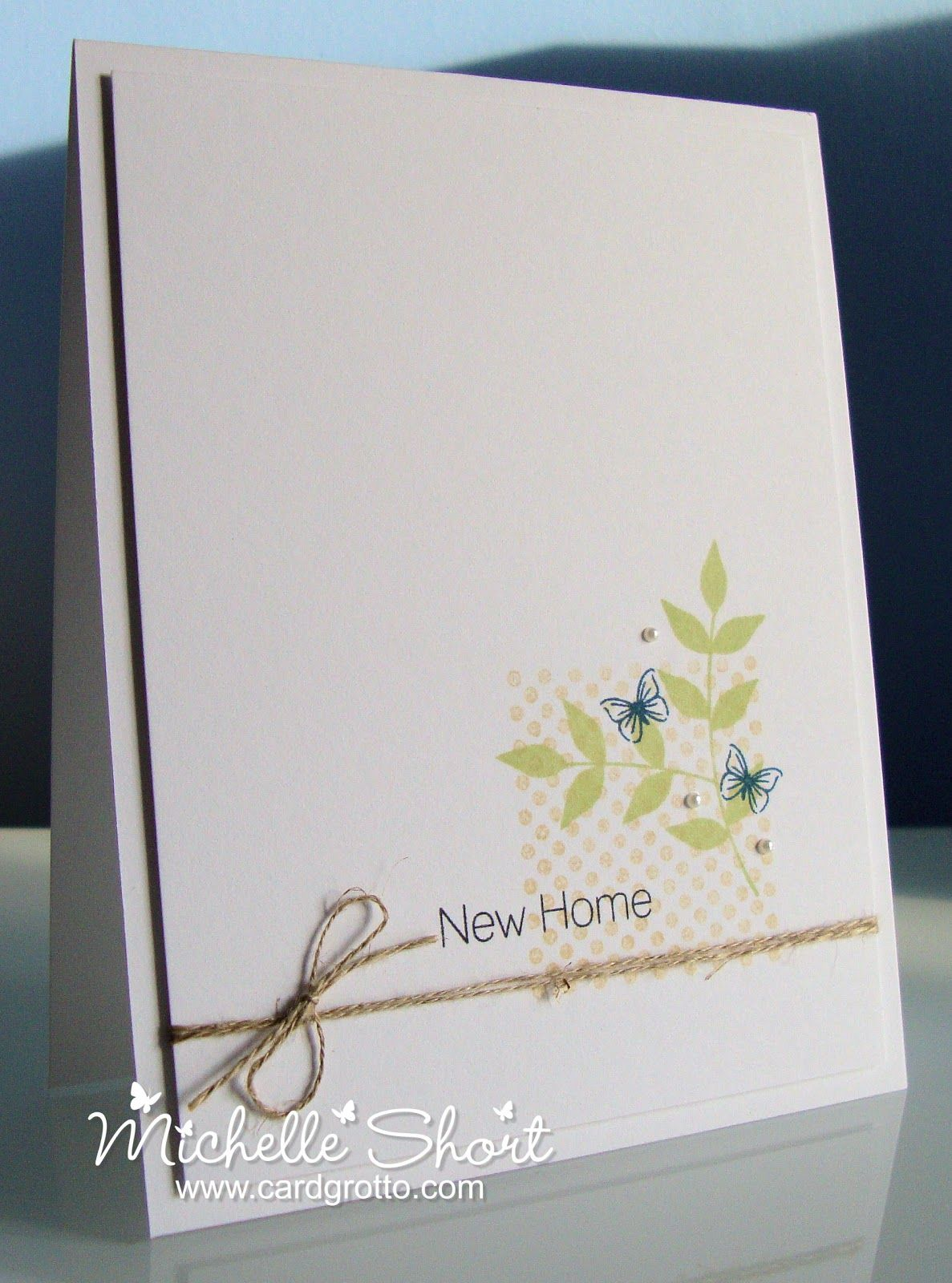 The Card Grotto: New Home   Flower Cards   Pinterest   Cards, Card ...