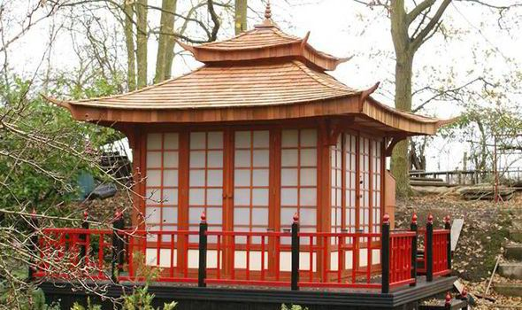 japanese style tea house in essex