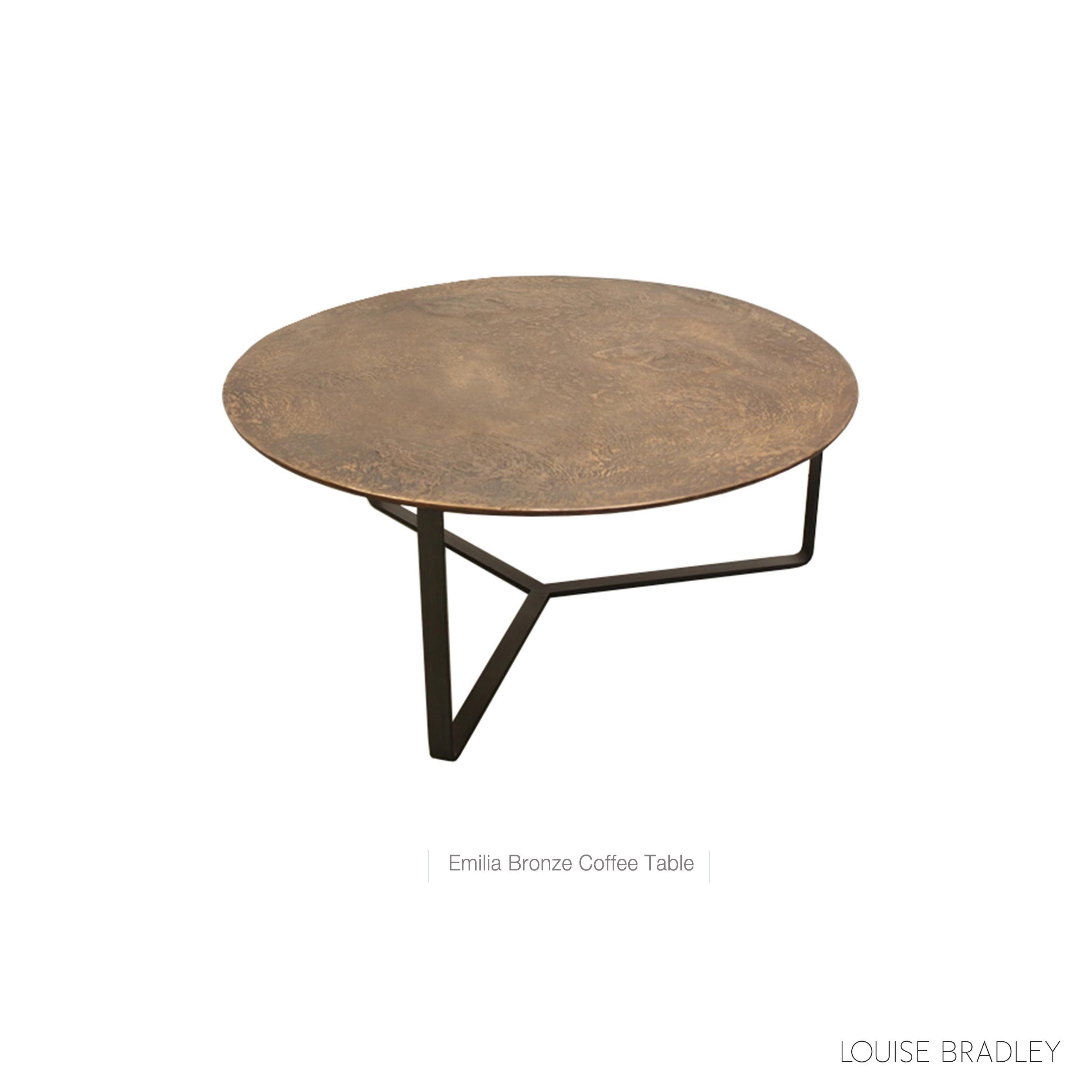 Emilia Bronze Coffee Table By Louise Bradley Home Accessories