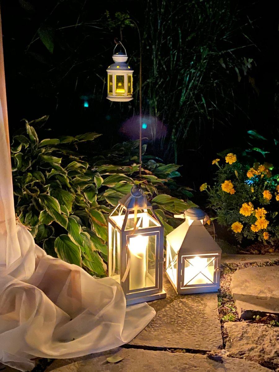 #fairytale #2020wedding #ambience #lighting #garden #childhoodhome #backyard #venuewithmeaning