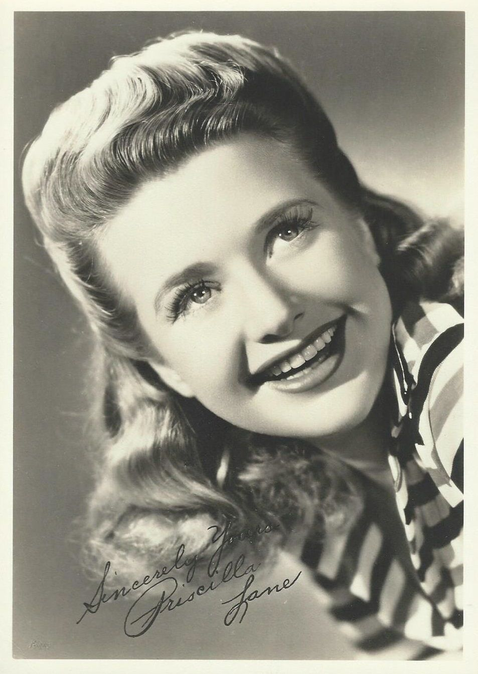 Priscilla Lane Fan Club