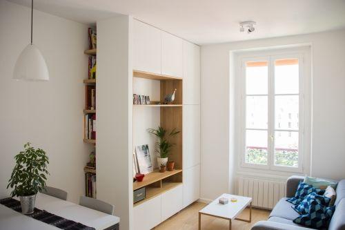 _Projet privé _Paris _2014 Réaménagement d\'un appartement parisien ...