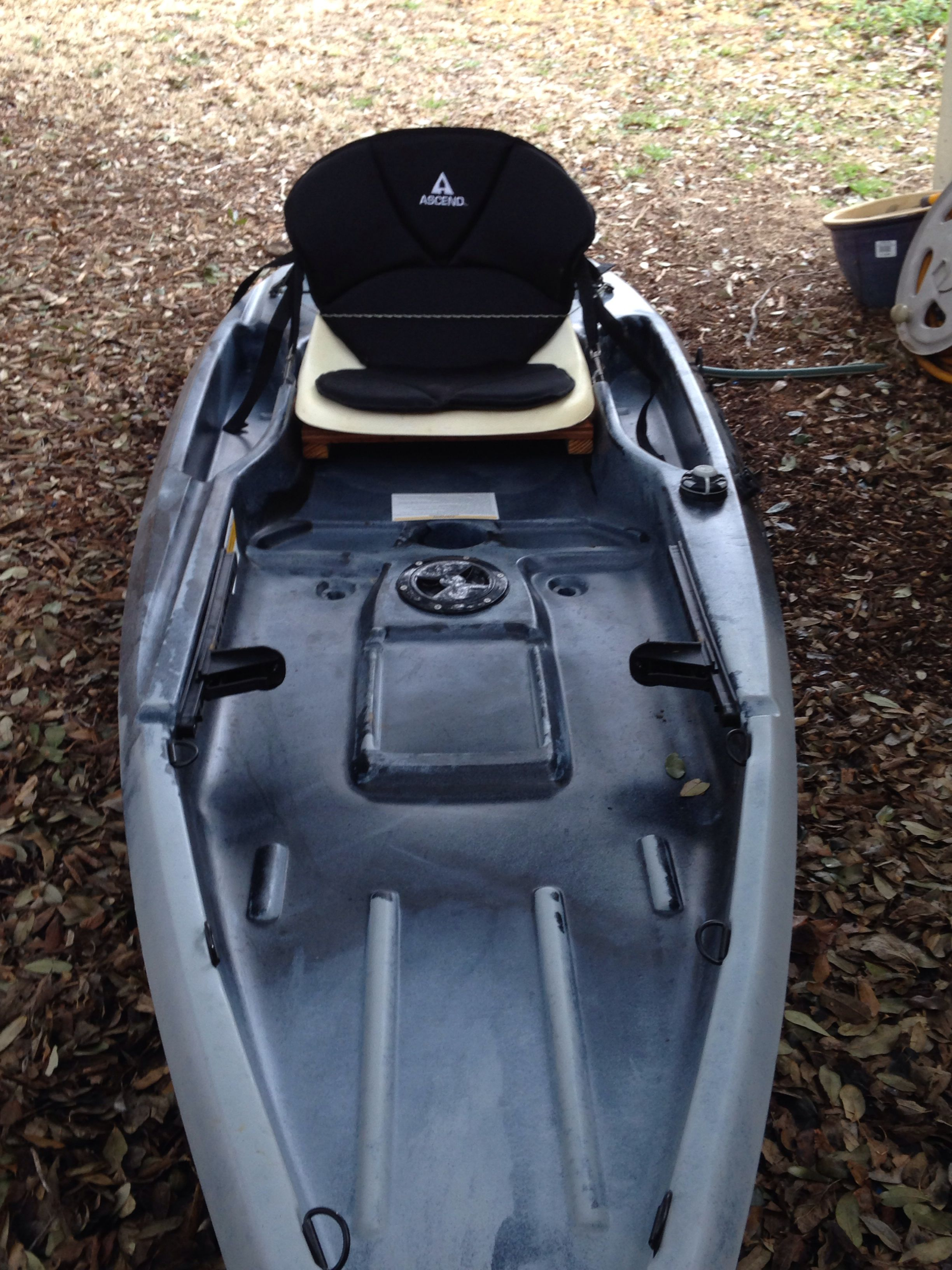 My ascend d10t seat mods yak fish pinterest for Fishing kayak mods