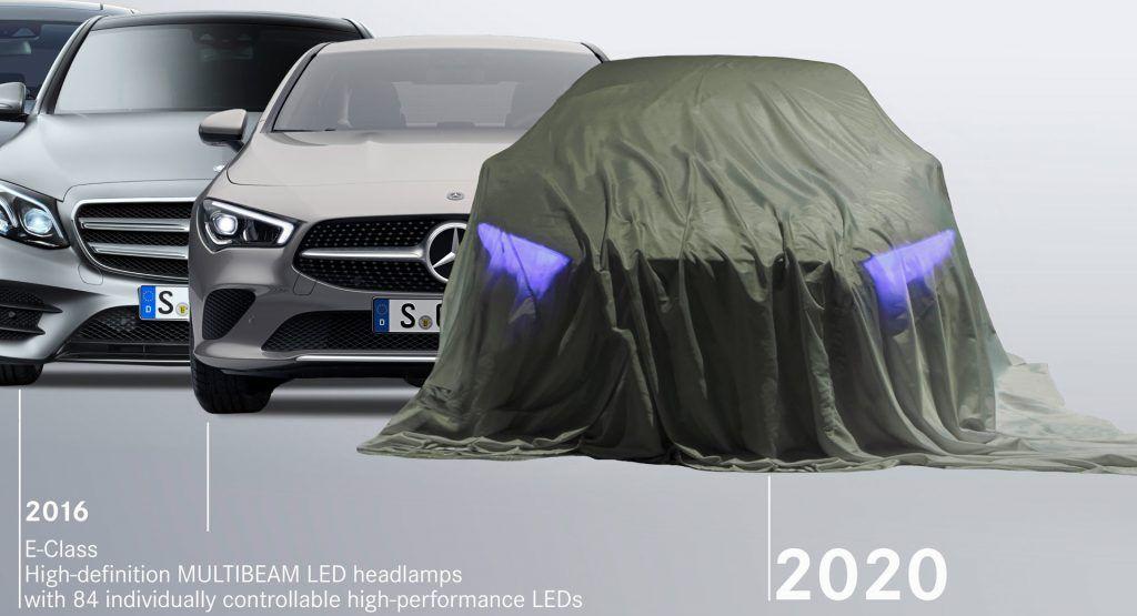 Mercedes Shines A Light On Headlight Development Teases Upcoming EQS