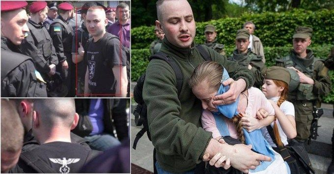 Neo-Nazi, who attacked a girl wearing St. George ribbon in Kiev, found out in 2 hours - http://www.therussophile.org/neo-nazi-who-attacked-a-girl-wearing-st-george-ribbon-in-kiev-found-out-in-2-hours.html/