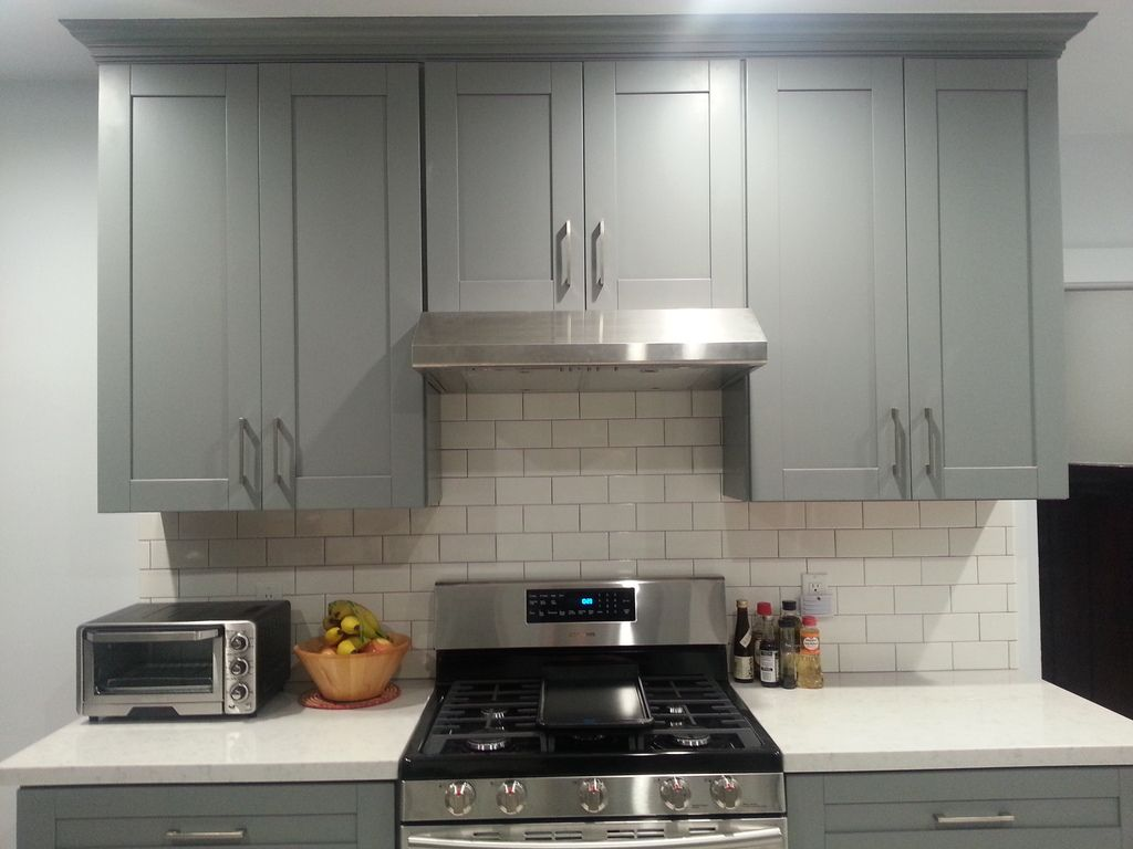 Best Light Grey Shaker Kitchen Cabinets Los Angeles Shaker 400 x 300