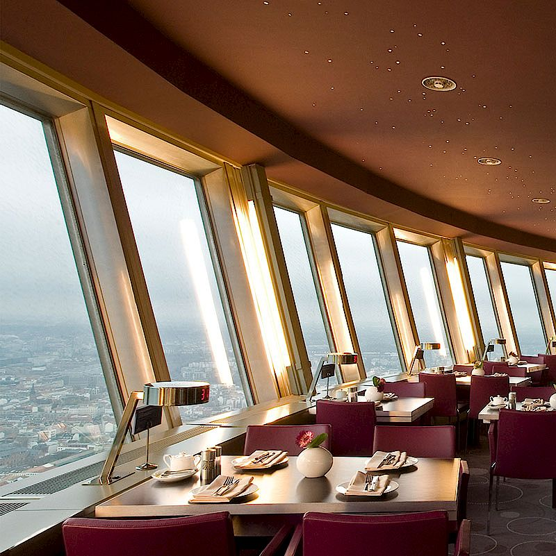 Restaurant In The Tv Tower Highlights Of Eastern Europe 2017