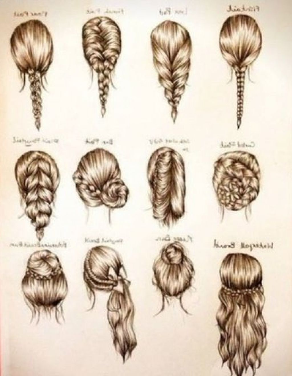 Easy Braids For Medium Hair Easy Braids For Medium Hair Hairstyle For Women Man Braided Hairstyles Easy Medium Hair Styles Long Hair Styles