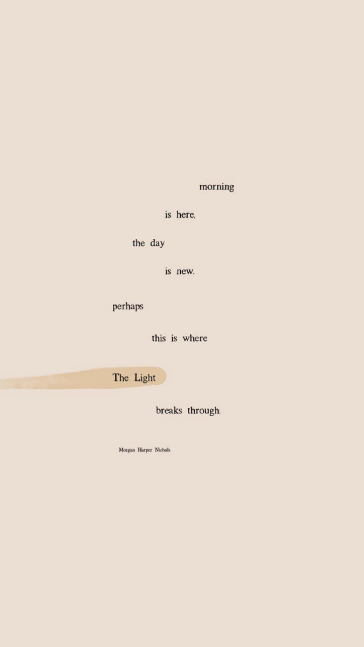 Morgan Harper Nichols | Palavra, Palavras de inspiração, Papel de parede  com frases