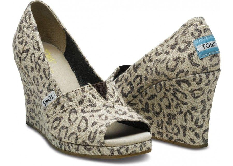 Leopard toms, Leopard wedges