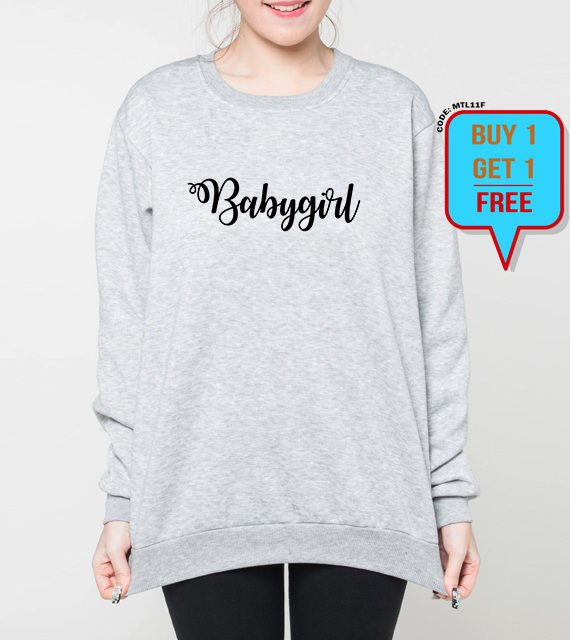 d27033b4a4b9 Babygirl sweatshirt baby girl sweater girly funny gift for her ...