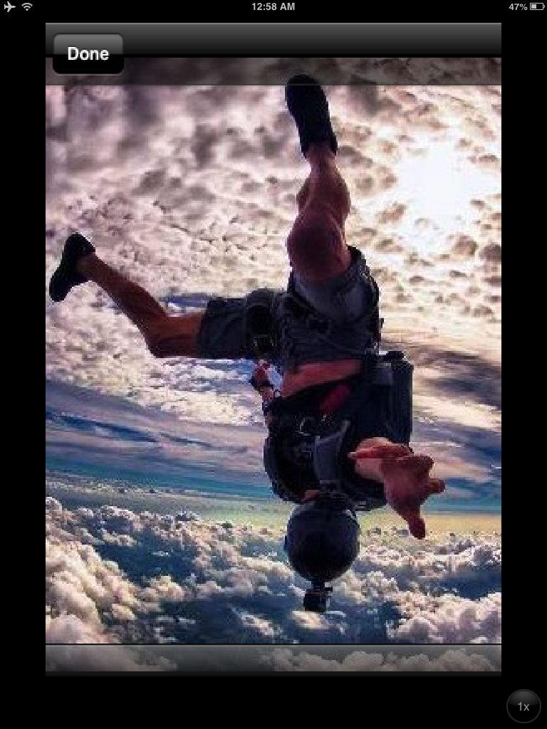 Wow! What A Shot! #skydiving #gopro #sick #photooftheday