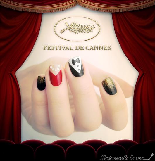 Le blog de Mademoiselle Emma: Sunday Nail Battle - Et Cannes a ri...